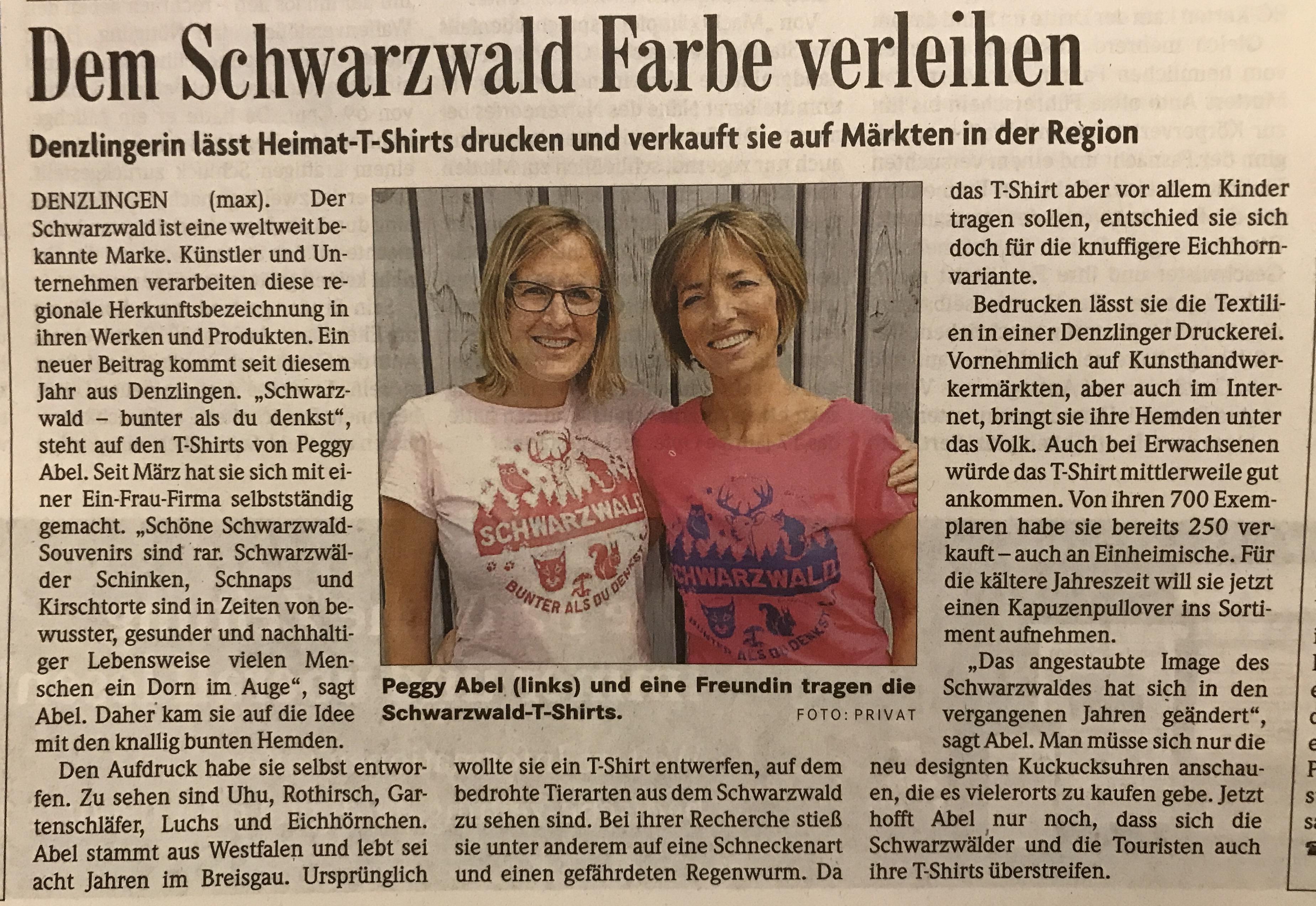 Schwarzwald Zeitung